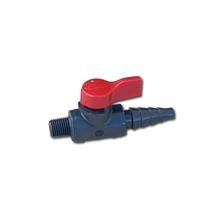 """Picture of Valve, Drain 1/4"""" MPT x Hose Barb"""