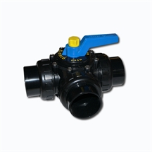 "Picture of Praher Perma-Seal 3 Port Valve 2""- 2 ½""  3 Port Valve, Unionized Connection"