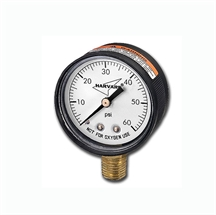 "Picture of Pressure Gauge 0-60 PSI 2"" Bottom Mount"