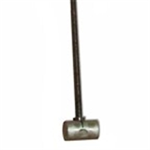 "Picture of 10"" Float Rod with coupling"